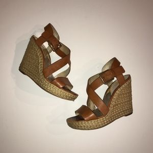 59d0ac30411e Women s Michael Kors Giovanna Wedge Sandal on Poshmark